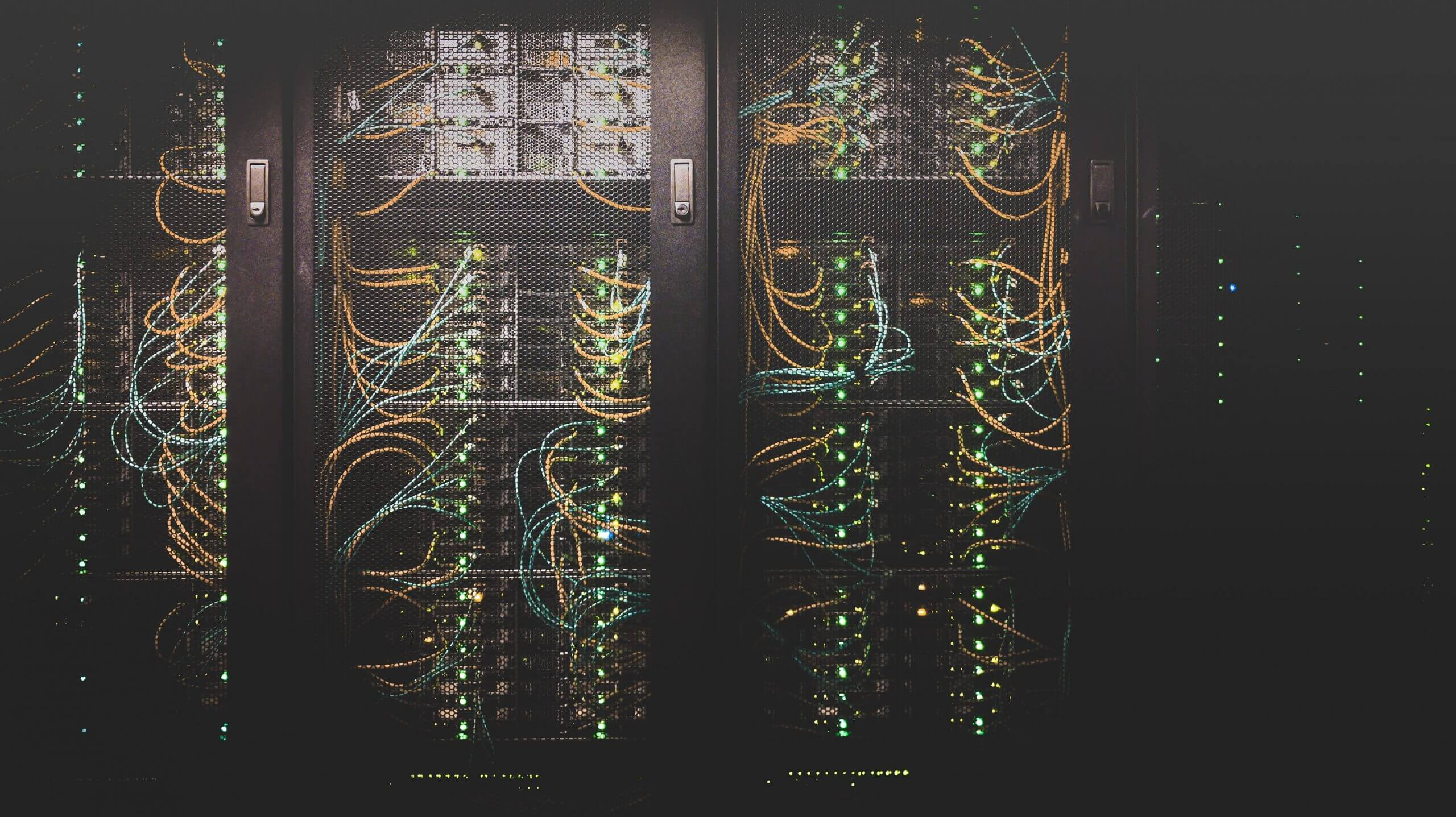 IT Support Networking Server Rack