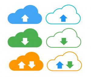 cloud storage illustrations